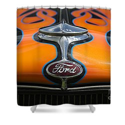 Ford 5 Shower Curtain by Wendy Wilton