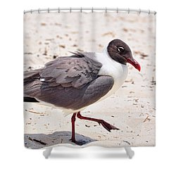 Shower Curtain featuring the photograph Hot Sand by Jan Amiss Photography