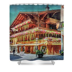 Shower Curtain featuring the photograph Hot Spot by Hanny Heim