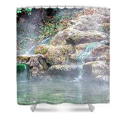 Shower Curtain featuring the photograph Hot Springs In Hot Springs Ar by Diana Mary Sharpton