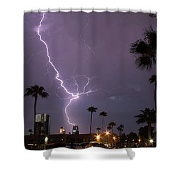 Shower Curtain featuring the photograph Hot Stuff by Michael Rogers