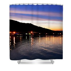 Hot Summers Night Shower Curtain