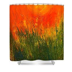 Hot Sun Shower Curtain