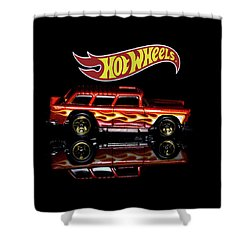 Hot Wheels '55 Chevy Nomad Shower Curtain