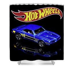 Shower Curtain featuring the photograph Hot Wheels '67 Pontiac Firebird 400-2 by James Sage