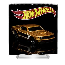 Hot Wheels '69 Ford Mustang 2 Shower Curtain