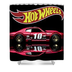 Hot Wheels '70 Chevy Chevelle-1 Shower Curtain