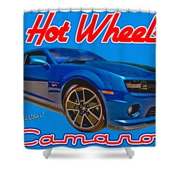 Hot Wheels Camaro Shower Curtain