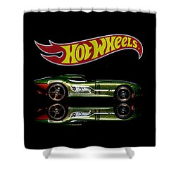 Shower Curtain featuring the photograph Hot Wheels Fast Felion by James Sage