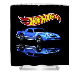 Shower Curtain featuring the photograph Hot Wheels Gm Camaro Z28 by James Sage