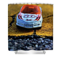 Hot Wheels For The Kid In All Of Us Shower Curtain