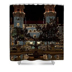 Hotel Alcazar Shower Curtain by Kenneth Albin