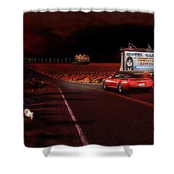 Hotel California Shower Curtain