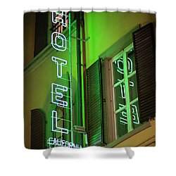 Shower Curtain featuring the photograph Hotel California - Rome Italy Photography by Melanie Alexandra Price