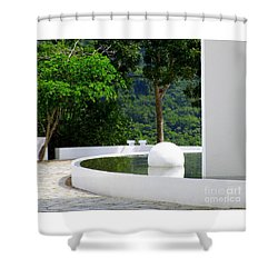 Hotel Encanto 12 Shower Curtain by Randall Weidner