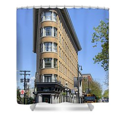 Hotel Europe In Vancouver Shower Curtain