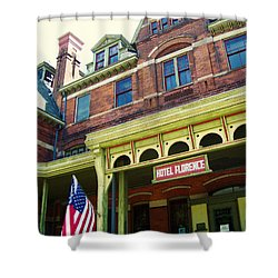 Hotel Florence Pullman National Monument Shower Curtain