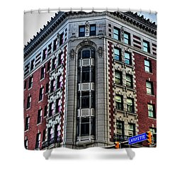 Hotel Lafayette Series 0003 Shower Curtain