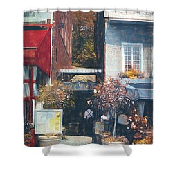 Hotel Nelson - Cafe - Old Montreal Shower Curtain