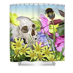 Hotel Ozymandias Shower Curtain