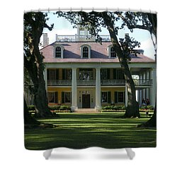 Houmas House Plantation Shower Curtain