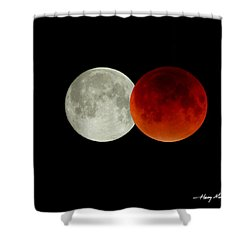Hours Apart Shower Curtain