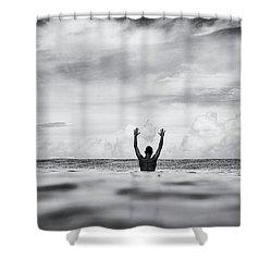 House Arrest Shower Curtain