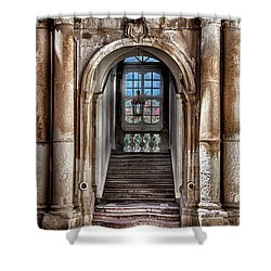 House Entrance Palermo  Shower Curtain