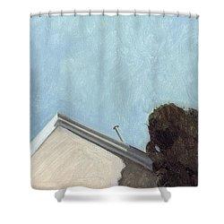 House In Santa Fe Shower Curtain