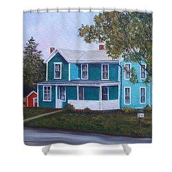 House In Seward Shower Curtain