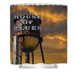 Shower Curtain featuring the photograph House Of Blues  by Laura Fasulo