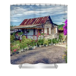 House Of Flowers  Shower Curtain