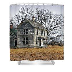 House Of Kansas Past Shower Curtain