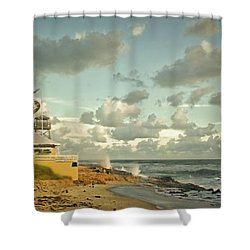 House Of Refuge Shower Curtain