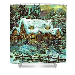 House Of Solace Shower Curtain