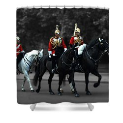 Household Cavalry Shower Curtain