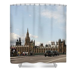 Houses Of Parliament.  Shower Curtain