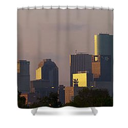 Houston Sunset Shower Curtain