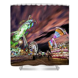 Houston Texas Live Stock Show And Rodeo #1 Shower Curtain