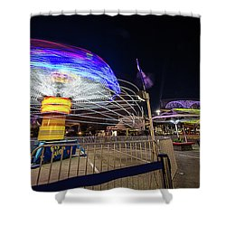 Houston Texas Live Stock Show And Rodeo #10 Shower Curtain