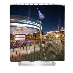 Houston Texas Live Stock Show And Rodeo #11 Shower Curtain