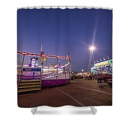 Houston Texas Live Stock Show And Rodeo #12 Shower Curtain