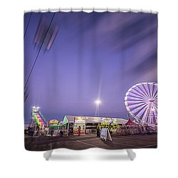 Houston Texas Live Stock Show And Rodeo #13 Shower Curtain