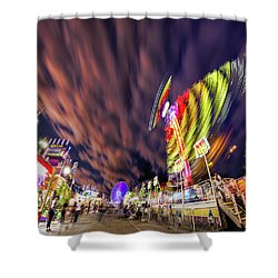 Houston Texas Live Stock Show And Rodeo #3 Shower Curtain