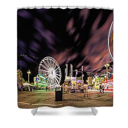 Houston Texas Live Stock Show And Rodeo #4 Shower Curtain