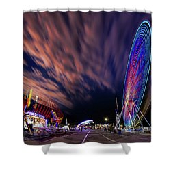 Houston Texas Live Stock Show And Rodeo #5 Shower Curtain