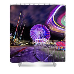 Houston Texas Live Stock Show And Rodeo #6 Shower Curtain
