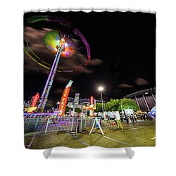 Houston Texas Live Stock Show And Rodeo #7 Shower Curtain
