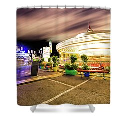 Houston Texas Live Stock Show And Rodeo #8 Shower Curtain