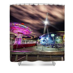 Houston Texas Live Stock Show And Rodeo #9 Shower Curtain